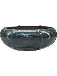 Кашпо из керамики и глины