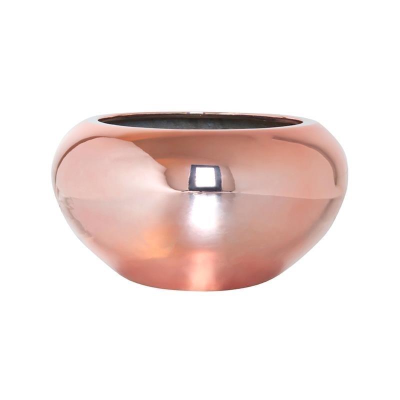 Чаша CORA платина (Pottery Pots) - фото 10815