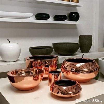 Чаша Pottery Pots Тара Мини платина - фото 11334