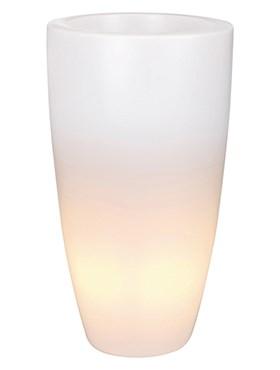 Светящееся кашпо Pure soft round high - фото 12641