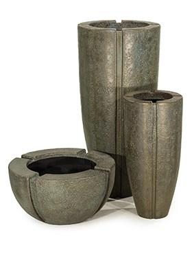 Кашпо Patina verdrigris-bronze - фото 13927