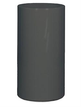 Кашпо Premium classic quartz grey (straight) - фото 13929