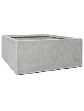 Кашпо Division plus square natural-concrete - фото 13984