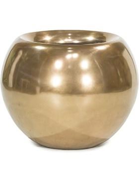 Кашпо Glory ball bronze - фото 13997