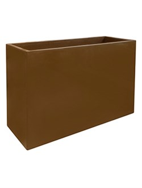 Кашпо Inspiration block hazelnuth browny - фото 13999