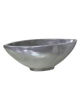 Кашпо Loft bowl aluminium - фото 14008