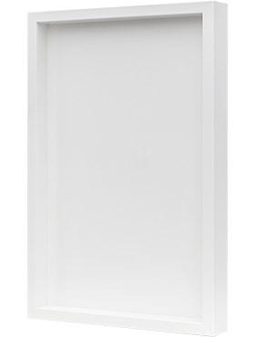 Рама для фитокартины Wood frame mdf ral 9010 satin gloss Nieuwkoop Europe - фото 14792