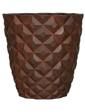 Кашпо Capi lux heraldry vase taper round - фото 14827