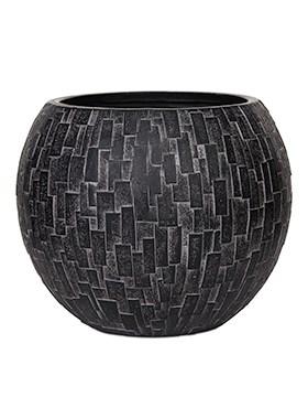 Кашпо Capi nature stone vase ball - фото 14997