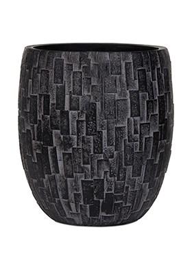 Кашпо Capi nature stone vase elegant high - фото 15001