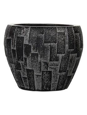Кашпо Capi nature stone vase taper round - фото 15003