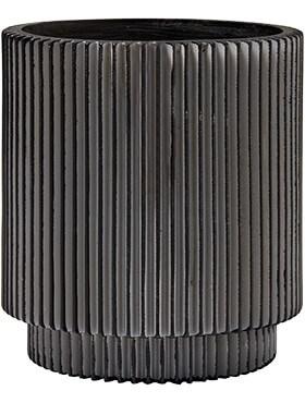 Кашпо Capi nature vase cylinder groove - фото 15011