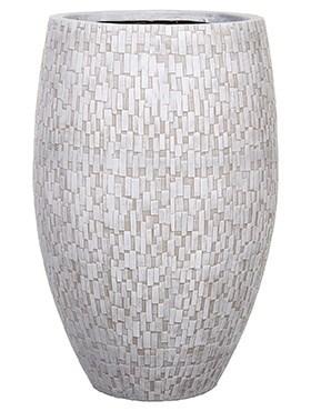 Кашпо Capi nature vase elegant deluxe stone - фото 15023