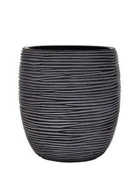 Кашпо Capi nature vase elegant high rib - фото 15030