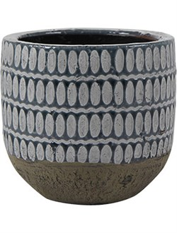 Кашпо Indoor pottery pot elin denim (Nieuwkoop Europe) - фото 17761