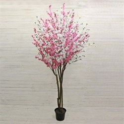 Сакура розово-белая (искусственная) Альсид - фото 22664