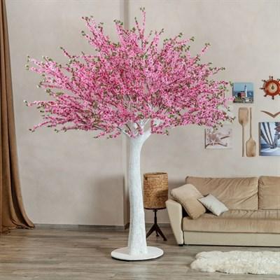 Сакура розовая разборная ствол белый (искусственная) Альсид - фото 22666