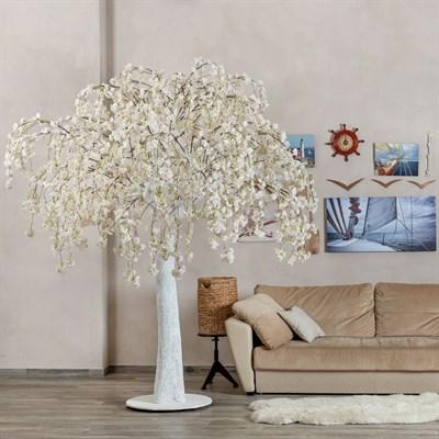 Сакура свисающая белая (искусственная) Альсид - фото 22668