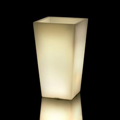 Светящееся Кашпо Квадро Пасубио Альто (Teraplast) - фото 32988