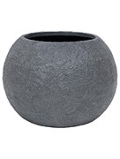 Кашпо Rocky bowl smoke-granite