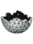 Кашпо Shell bowl mother of pearl silver-blue
