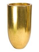 Кашпо Pandora gold leaf