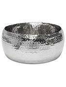 Блюдо Hoop polished aluminium