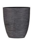 Кашпо Capi nature oval planter rib