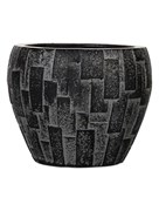 Кашпо Capi nature stone vase taper round