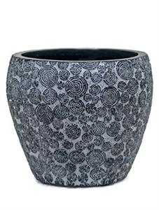 Кашпо Capi nature wood vase taper round