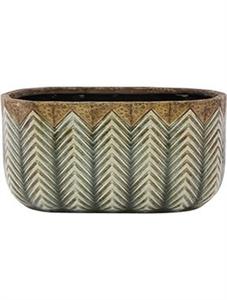 Кашпо Indoor pottery boat cecil (Nieuwkoop Europe)