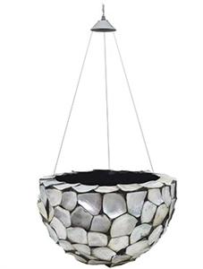 Подвесное кашпо Oceana pearl hanging bowl (Nieuwkoop Europe)
