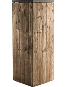 Пьедестал Marrone high pillar dark flame wood (Nieuwkoop Europe)