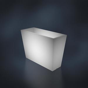 Ящик BENE ALTO белый с подсветкой