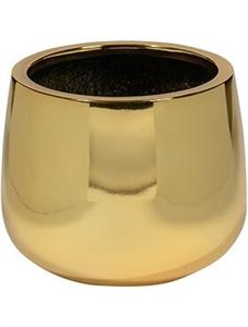 Кашпо Fiberstone platinum gold kevan (Pottery Pots)