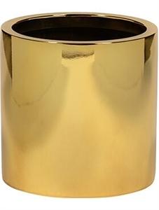 Кашпо Fiberstone platinum gold puk (Pottery Pots)