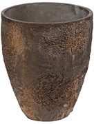 Кашпо Oyster bernd imperial brown (Pottery Pots)