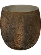 Кашпо Oyster gillard imperial brown (Pottery Pots)