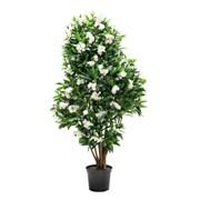 """Дерево цветущее """"Олеандр"""" белый (искусственное) Альсид"""