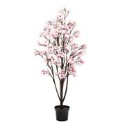 Магнолия цветущая без листвы розовая (искусственная) Альсид