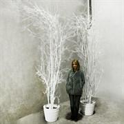 Дерево заснеженное наклонённое (искусственное) Альсид