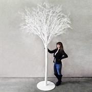 Дерево заснеженное на основании (искусственное) Альсид