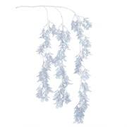 7143/0047-9/10(Promo) Аспарагус ампельный искусственный, голубой, h 95 см (50+45)