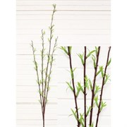 7143/0300-16 Ветка длин. без цветов(с лист.) пласт