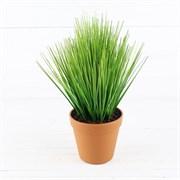 Трава в кашпо (искусственная) Альсид