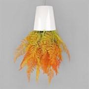 Sky Planter Даваллия оранж в кашпо (искусственная) Альсид