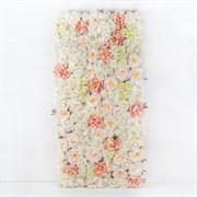 Фитостена цветочная бело-кремовая (искусственная) Альсид