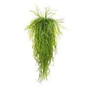 Трава ампельная зелёная в кашпо (искусственная) Альсид