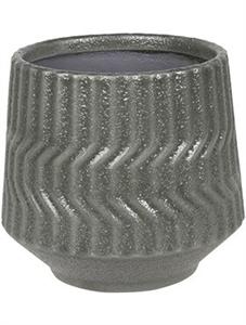 Кашпо D&m indoor pot notable dark grey (Nieuwkoop Europe)