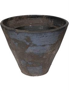 Кашпо D&m outdoor pot dust black (Nieuwkoop Europe)
